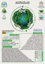 چاپ مقاله در دومین کنفرانس بین المللی و پنجمین کنفرانس ملی صیانت از منابع طبیعی و محیط زیست