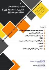 چاپ مقاله در چهارمین دوره همایش ملی مدیریت حسابداری و مهندسی صنایع